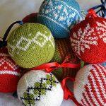 7 Colorwork Christmas Ornaments pattern by Meg Hollar