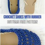 7 Easy Crochet Slippers Free Patterns