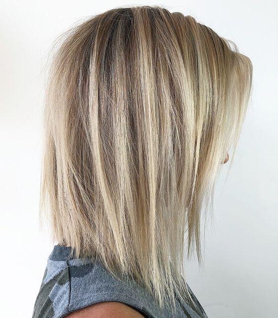 70 Perfect Medium Hairstyles for Thin Hair  #mediumhairstylesforthinhair #medium…