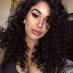 7A Virgin Hair 360 Frontal with 2 Bundles Indian Hair Deep Curly