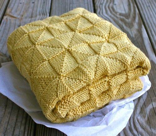8 Super Cute Knit Baby Blanket Patterns