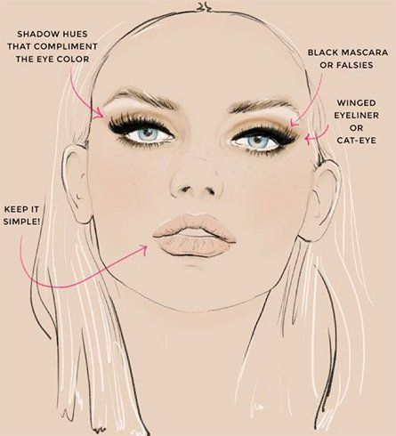 8 Top Makeup Tips For Oval Face