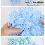8 Winter Flower Snowflake Crochet Free Patterns - Crochet & Knitting