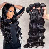 8A Brazilian Virgin Hair Loose Wave Brazilian Lot …- 8A Brasilianisches Reines…