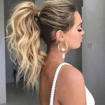 9 Glamorous Summer Ponytail Hairstyles for 2019 : You Must Try it!,  #formalhairponytail #Gla...