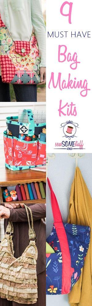 9 Must Have Bag Making Kits