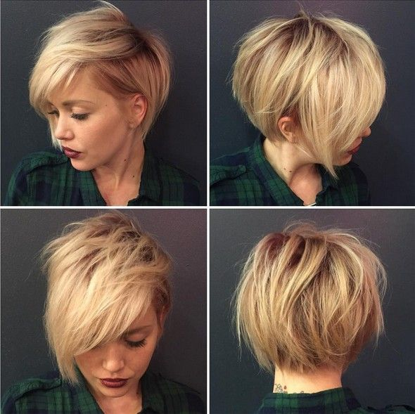 Adorable Pixie Haircut Ideas with Bangs