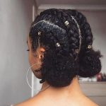 African American Natural Hairstyles for Medium Length Hair