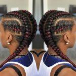 Afrikanisches Haar weben: Zöpfe für Haare, Zöpfe, Zöpfe, unsichtbare Zöpfe,...