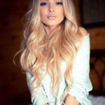 Alena Shishkova Super Long Light Wave Monofilament Wig 100 Human Hair 26 Inches