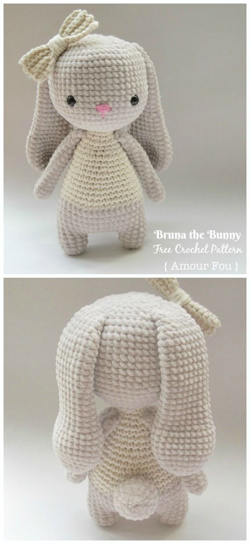 Amigurumi Bunny Free Crochet Patterns