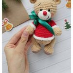 Amigurumi Christmas Reindeers Free Pattern – Amigurumi Free Patterns And Tutor...