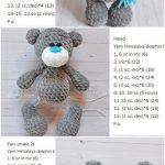 Amigurumi Crochet Plush Bear Free Pattern – Amigurumi Crochet