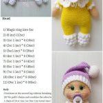 Amigurumi Doll Pacifier Baby Free Crochet Pattern - Crochet.msa.plus - Amigurumi Patterns And Tutorials