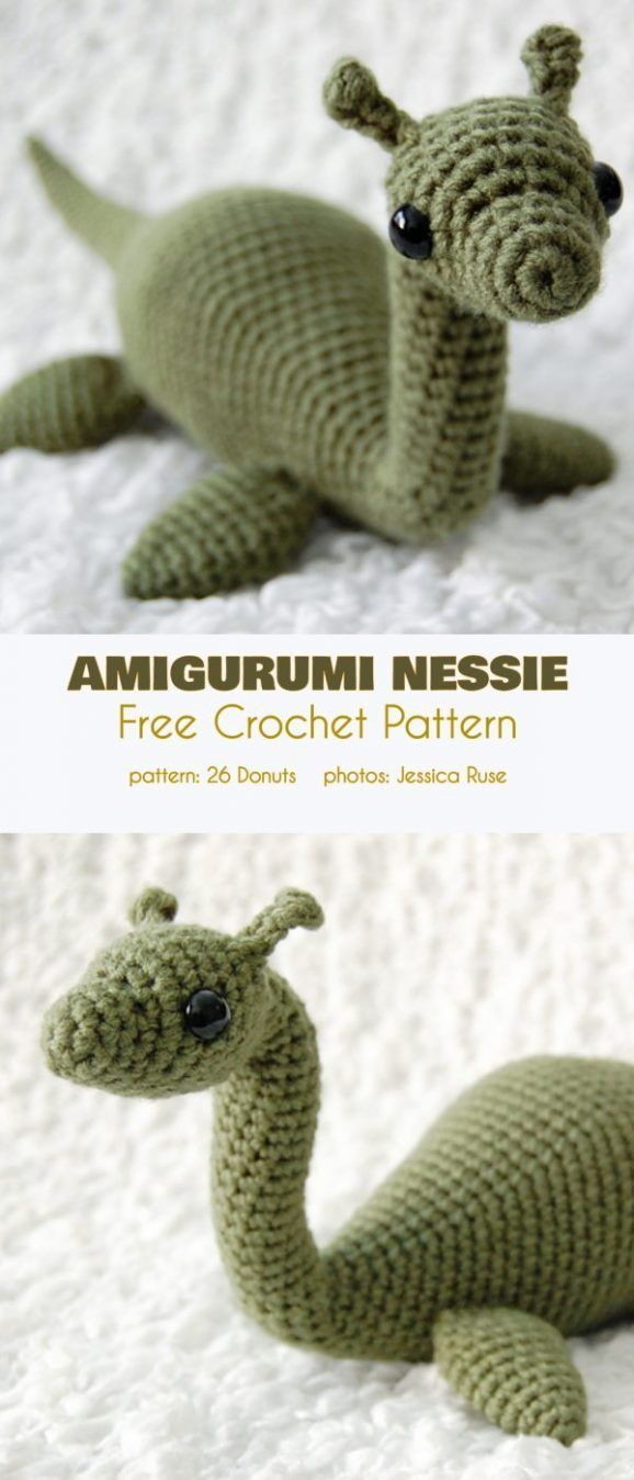 Amigurumi Monsters Free Crochet Patterns