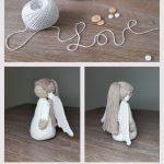 Amigurumi Puppe Angel Tutorial - Stricken - #Amigurumi #Angel #Puppe #Stricken #Tutorial - Anna Mor