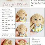 Amigurumi Spring Bunny in Dress Free Crochet Pattern – Amigurumi Crochet   -  ...