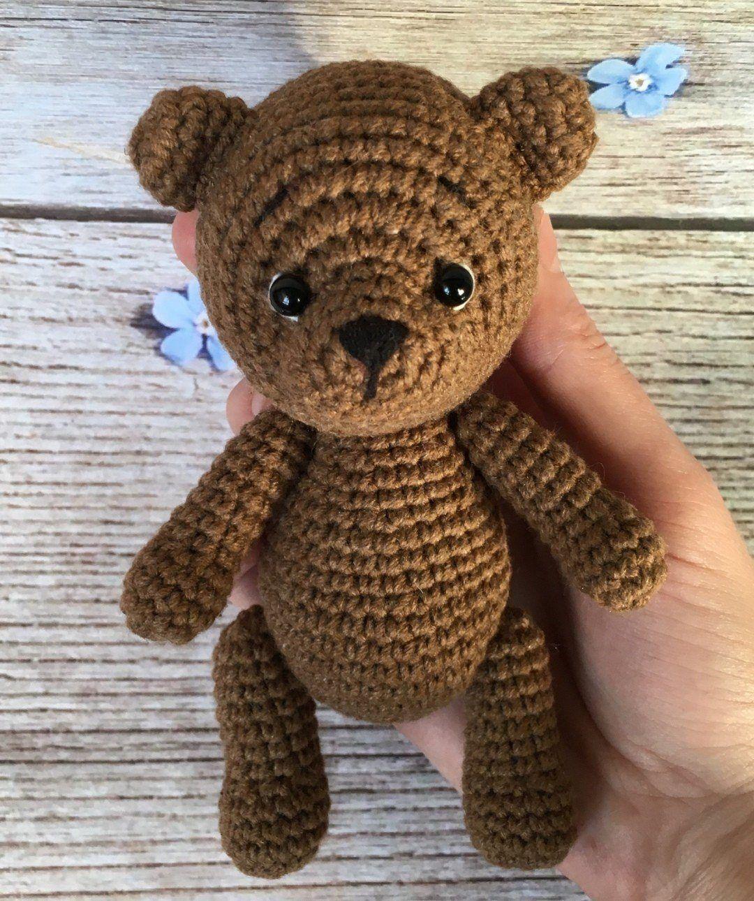 Amigurumi bear free pattern