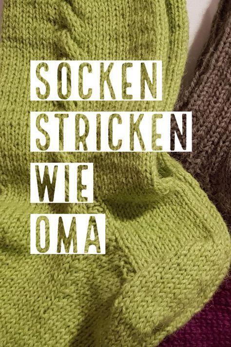 Anleitung zum Socken stricken! #sockenstricken #sockenstrickenanleitung #stricke