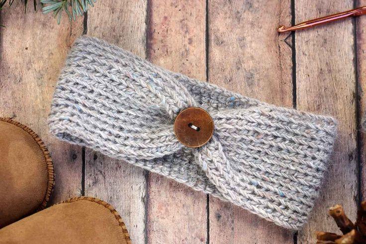 """Aspen Socialite"" Free Crochet Headband Pattern (All Sizes)"