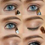 Augen Make Up Schritt für Schritt  so machen Sie Ihre Augen größer#nailgame #...
