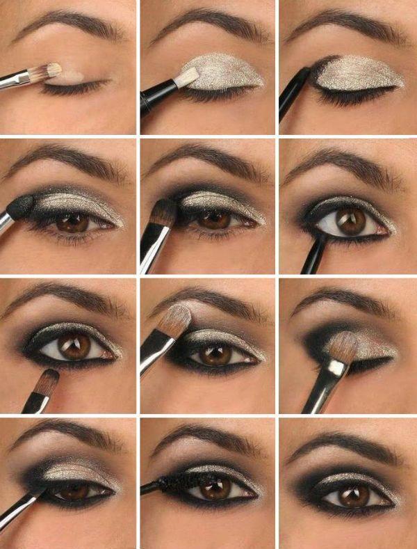 Augen Make Up Smokey Eyes – Beauty Ideen