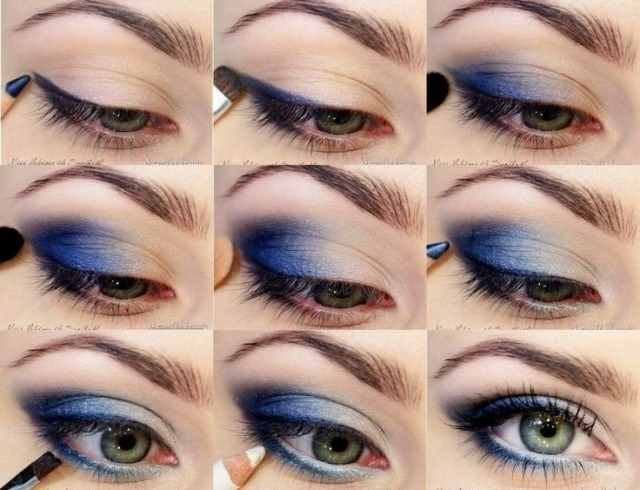 Augen Make Up Varianten