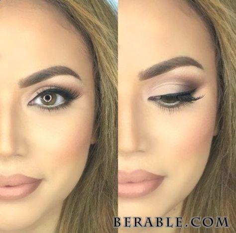 Augen Make up 30 Hochzeit Make up Ideen zu Gunsten von Brom#Airbrush #Augen #blu…