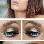Augen wunderschöne Lidschatten Lippenstift blaue Augen - Best Makeup