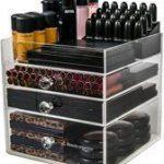 BO Make up organizer Clear Cube 3 lades - Transparant Acryl