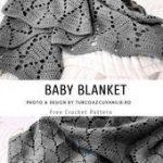 Baby Blanket Crochet Pattern Free - Crocheting - #Baby #Blanket #Crochet #croche...