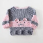 Baby Girl Sweater, Baby Cardigans, Baby Girl Gift, 1st Birthday Gift For Girl, Pullover Sweater, Cro