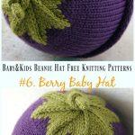 Baby & Kids Beanie Hat Free Knitting Patterns