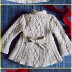 Baby Knitting Patterns Cable Knit Elizabeth Coat Free Pattern - Knit Baby Sweate... Yarns and Tales