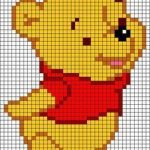 Baby Knitting Patterns Winnie the Pooh - Template for # Ironing Beads ... - #Kni...