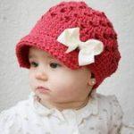 Baby # Mädchen # Häkeln Hut # Muster – 10 einfache Häkeln Hut Muster #einfa...
