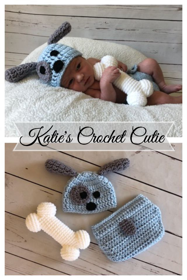 Baby Puppy Outfit – Baby Photography Prop
