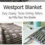 Baby #Stricken #Muster #Westport #Blanket # - #Einfach #Stückchen #Werfen #Blanket #Stricken ...