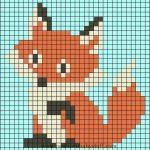 Baby Strickmuster Fox Perler Perlenmuster ..., #perlenmuster #perler #strickmust...