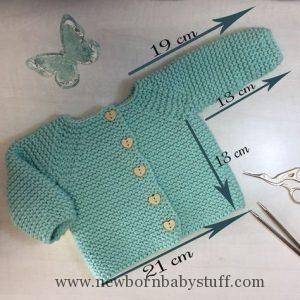 Baby Strickmuster Super EASY (im Ernst!) Baby Booties Strickmuster …