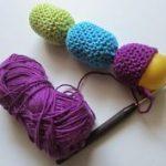 Babyrassel Babyspielzeug häkeln DIY Blog Häkelblog Liebenswelt, #babyspielzeug #Babyrassel #B...