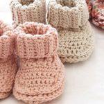 Babyschuhe häkeln Anleitung und 23 reizende Häkelmuster - Haus Dekoration Mehr