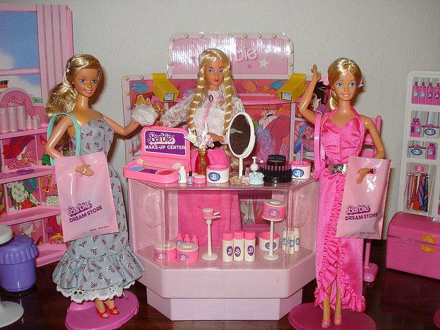 Barbie Make-Up Department