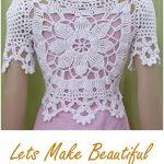 Beautiful Bolero Jacket Crochet Tutorial