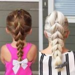 Beautiful hairstyles for girls in the garden  everyday and festive choices