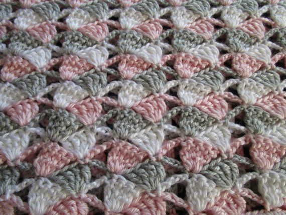 Beginner Crochet Throw Blanket Pattern, Afghan Pattern