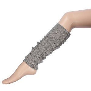 Beinstulpen Knie Hohen Bein Socken warme Winter Stulpen Stricken