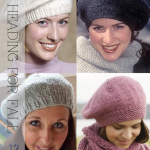 Berets heading for fall - lots of free patterns to knit and crochet - DiaryofaCr...