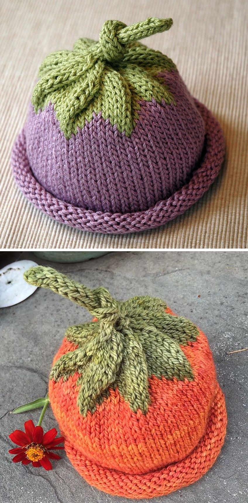 Berry Baby Hat – Free Pattern