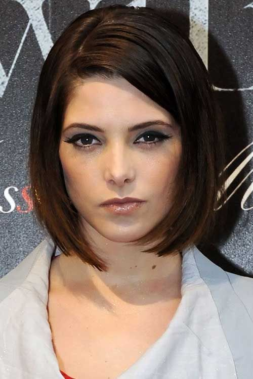 Best Short Bobs for Ladies with Round Faces